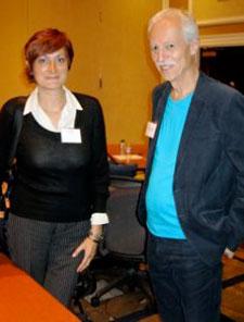 Lucia De Francheschi and Ranier Prohaska