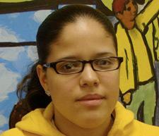 Maria's daughter Vikky Cruz