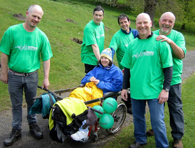 The Parry fundraising walk at Hawarden marks its 20th year