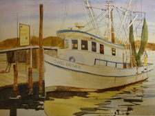 Susan Hills sent this intriguing boat portrait from earlier days.