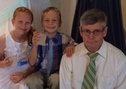 Mark and his two grandchildren